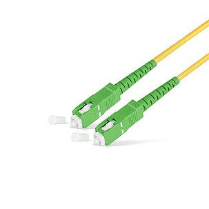 Патч Корд Оптоволоконный SC/APC-SC/APC SM 9/125 Simplex 2.0мм 1 м, фото 2