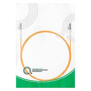 Патч Корд Оптоволоконный LC/UPC-LC/UPC MM OM1 62.5/125 Simplex 3.0мм 1 м, фото 2