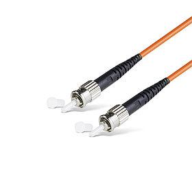 Патч Корд Оптоволоконный ST/UPC-ST/UPC MM OM1 62.5/125 Simplex 3.0мм 1 м