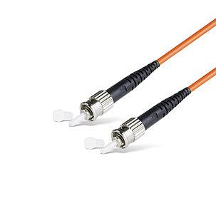 Патч Корд Оптоволоконный ST/UPC-ST/UPC MM OM1 62.5/125 Simplex 3.0мм 1 м, фото 2