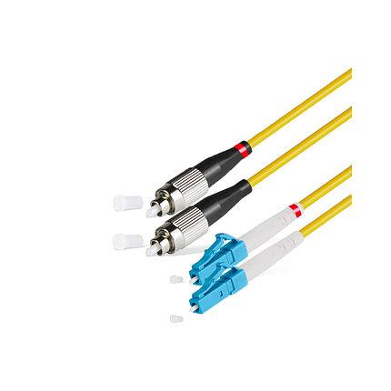 Патч Корд Оптоволоконный 2FC/UPC-2LC/UPC SM 9/125 Duplex 3.0мм 1 м, фото 2