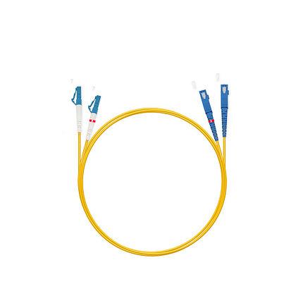 Патч Корд Оптоволоконный 2SC/UPC-2LC/UPC SM 9/125 Duplex 3.0мм 1 м, фото 2