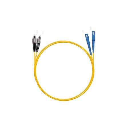Патч Корд Оптоволоконный 2SС/UPC-2FC/UPC SM 9/125 Duplex 3.0мм 1 м, фото 2