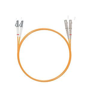Патч Корд Оптоволоконный SC/UPC-LC/UPC MM OM1 62.5/125 Duplex 3.0мм 1 м, фото 2