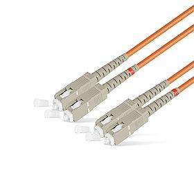 Патч Корд Оптоволоконный SC/UPC-SC/UPC MM OM2 50/125 Duplex 3.0мм 1 м