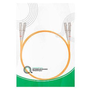 Патч Корд Оптоволоконный SC/UPC-SC/UPC MM OM2 50/125 Duplex 3.0мм 1 м, фото 2