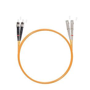 Патч Корд Оптоволоконный SC/UPC-ST/UPC MM OM1 62.5/125 Duplex 3.0мм 1 м, фото 2