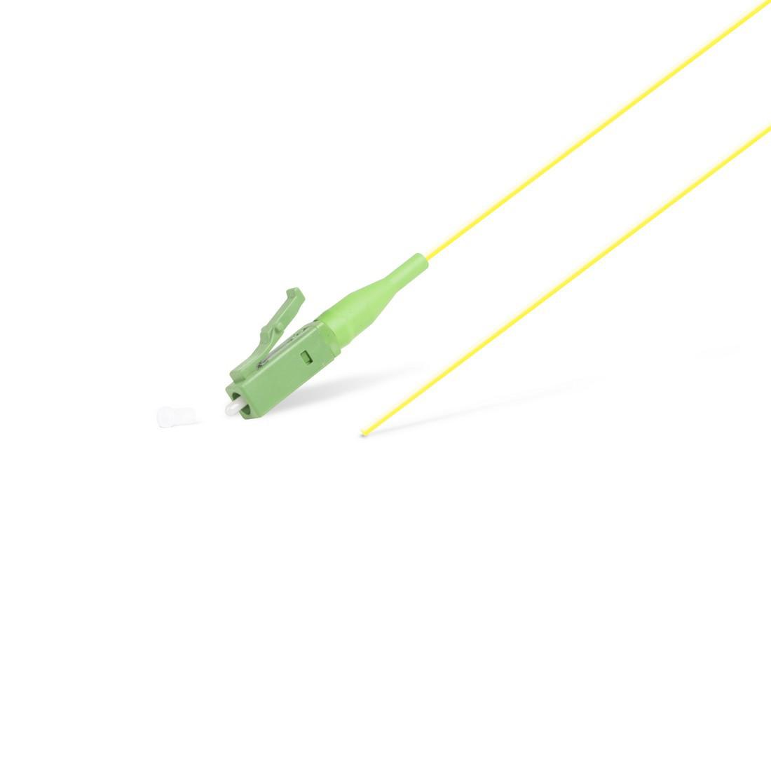 Пигтейл Оптический LC/APC SM 9/125 0.9мм 1.5 м