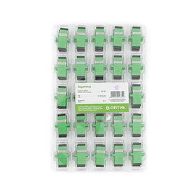 Адаптер А-Оптик АО-7002 SC/APC-SC/APC Simplex