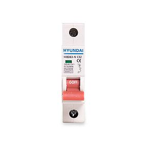 Автоматический выключатель реечный HYUNDAI HIBD63-N 1PMCS0000C 1Р 10А, фото 2