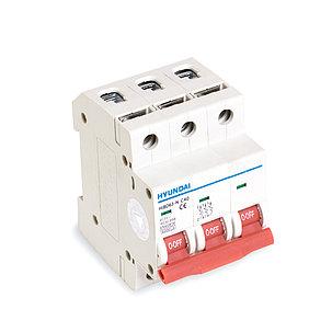 Автоматический выключатель реечный HYUNDAI HIBD63-N 3PMCS0000C 3Р 25А, фото 2