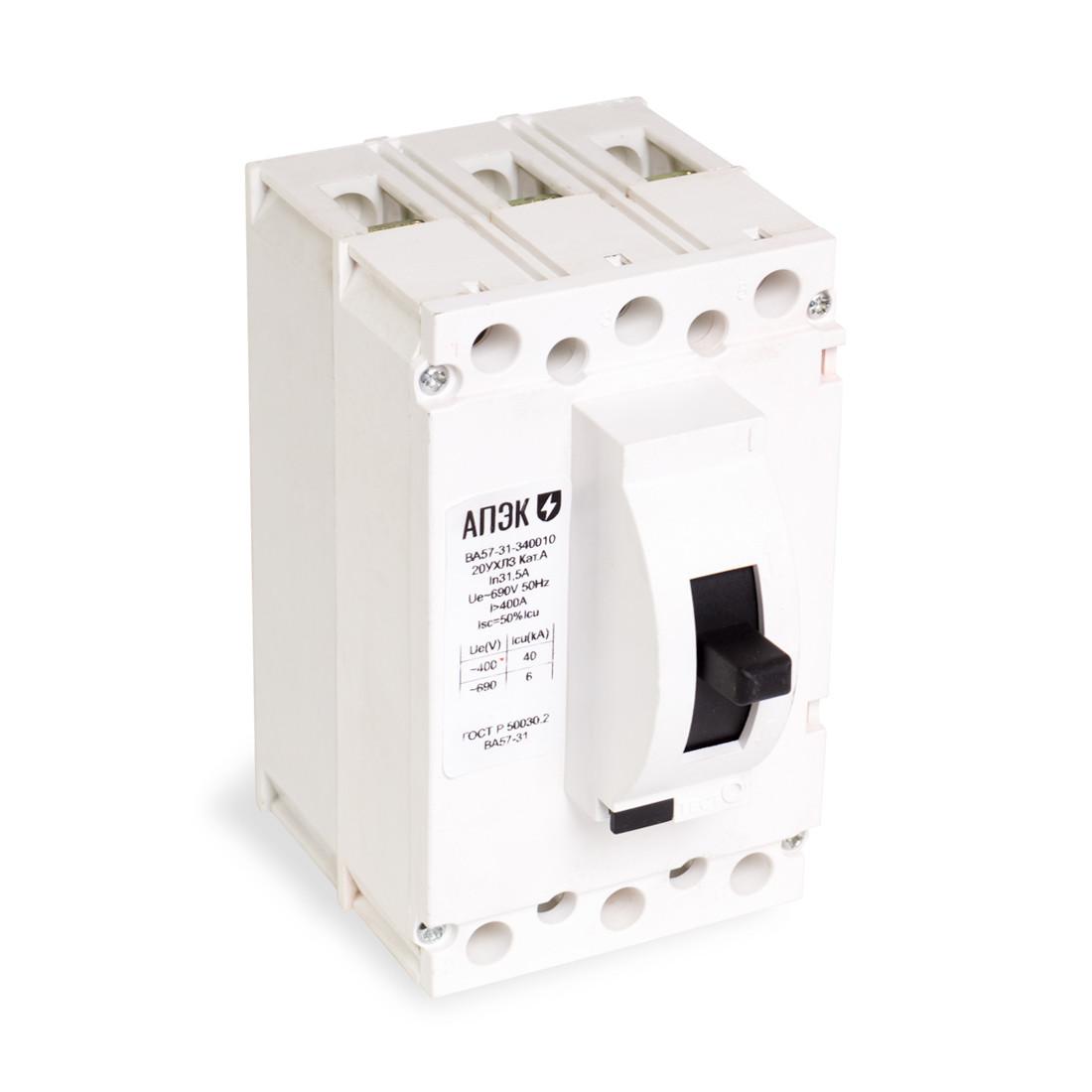 Автоматический выключатель АПЭК  ВА57-31-340010 3Р 50A