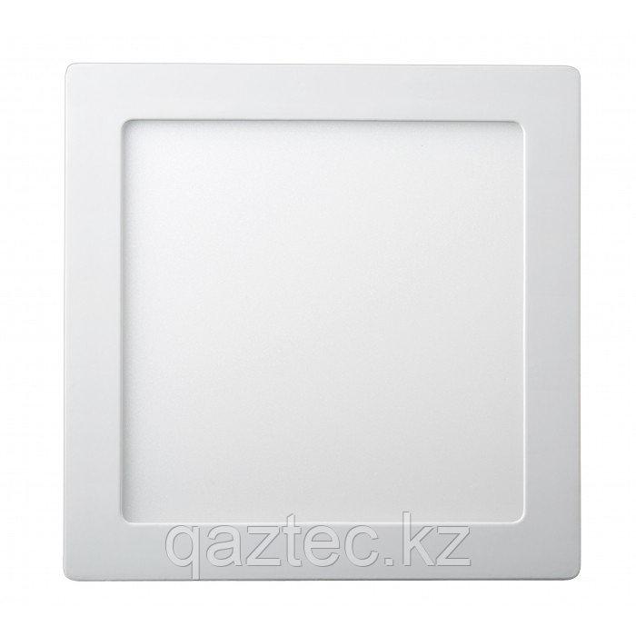 Светодиодная панель квадратная накладная 18W