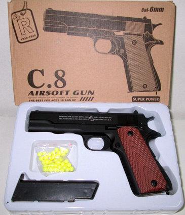 Игрушечный пневматический пистолет airsoft gun C.8