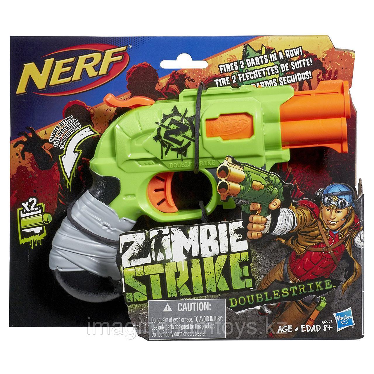 Бластер NERF Zombie Strike Doublestrike