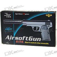 Игрушечный пневматический пистолет airsoft gun K17A