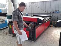 Наши рабочие будни. 12 августа 2014 года. На складе оборудования. Лазерный станок с ЧПУ и рабочим полем 1300*2500мм, трубка Reci 130W.