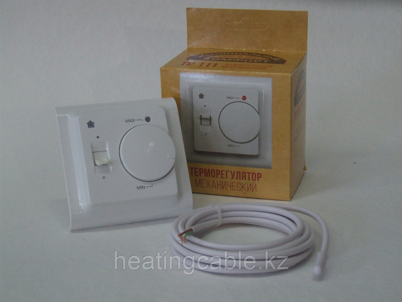 Терморегулятор ТР 111 белый НК