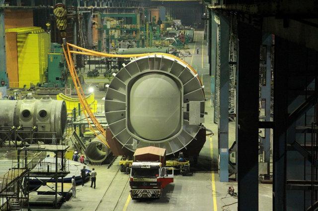 Производственные цеха ЗАО «АЭМ технологии» где ежедневно используются наши приборы.