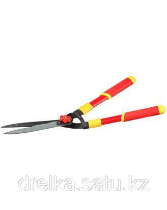 Кусторез ручной GRINDA 8-423551_z01, стальные ручки, профильные лезвия с тефлоновым покрытием, 571 мм