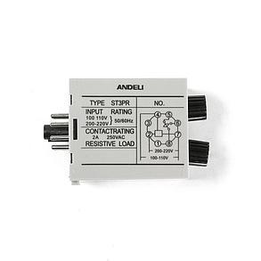 Реле времени ANDELI ST3PR 30s/30min AC220V, фото 2
