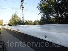 Изготовление тента для сдвижных крыш