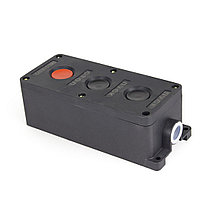 Пост кнопочный Deluxe ПКЕ-212-3 пуск-пуск-стоп, фото 3