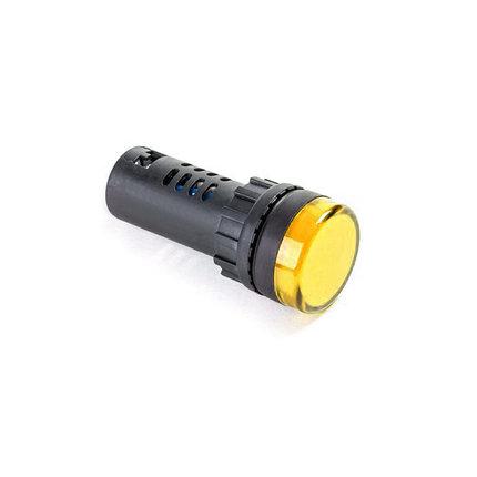 Лампа светодиодная ANDELI AD16-22D (желтая), фото 2