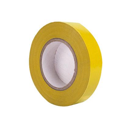 Изолента Deluxe ПВХ 0,13 х 15 мм (жёлтая), фото 2