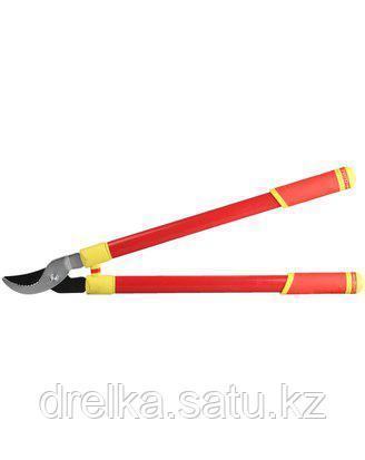 Сучкорез садовый GRINDA 8-424407_z01, с тефлоновым покрытием, стальные телескопические ручки, 700мм