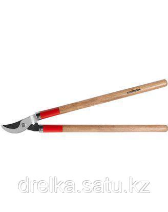 Сучкорез садовый GRINDA 40232_z01, с тефлоновым покрытием, деревянные ручки, 700мм