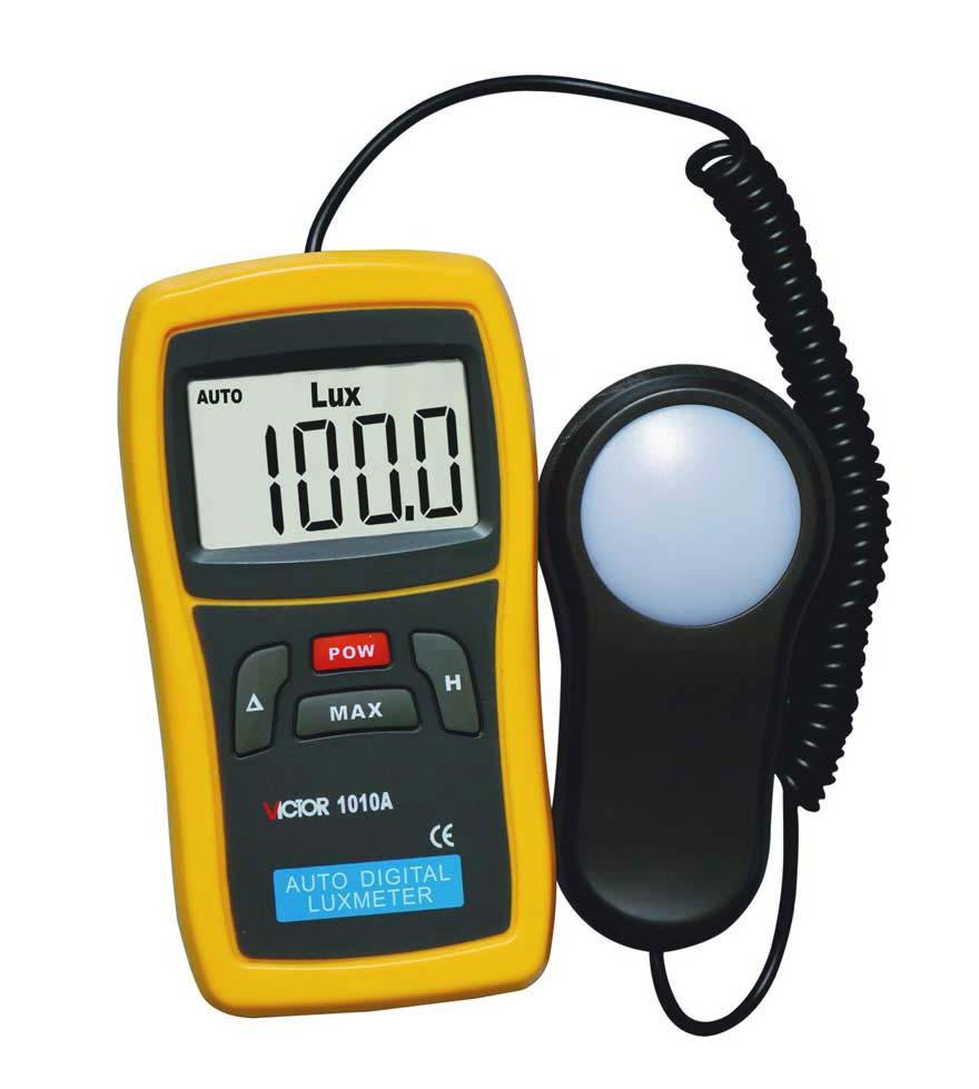 Люкс метр  VICTOR 1010A прибор измерения освещенности