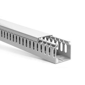 Кабельный канал пластиковый Deluxe 80х60 (ширина х высота), фото 2