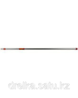 Ручка GRINDA телескопическая алюминиевая, 1250 - 2400 мм, 8-424445_z01