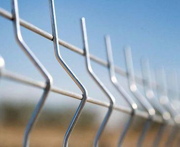 Панель для 3D ограждений металлическая, пруток 5 мм.