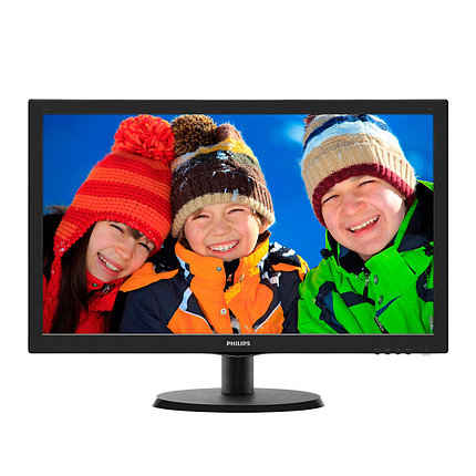 "Монитор 23,6"" PHILIPS 243V5LSB/01 Чёрный, фото 2"