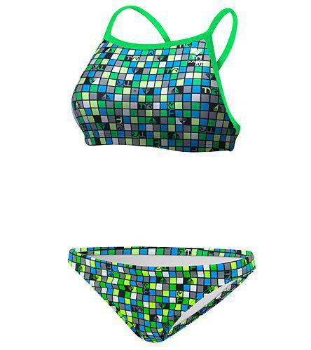 Купальник TYR Check Diamondfit Workout Bikini 487 - фото 3