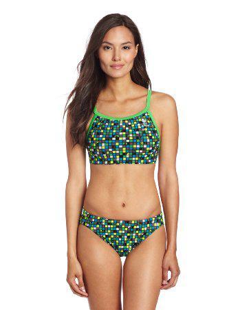 Купальник TYR Check Diamondfit Workout Bikini 487 - фото 2