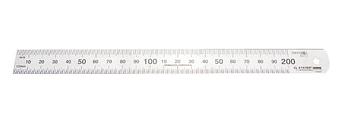 "(3427-020_z01) Линейка STAYER ""PROFI"" нержавеющая, двухсторонняя гравированная шкала, 0,2м"