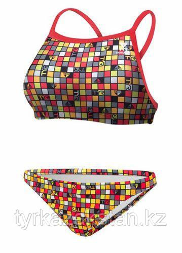 Купальник TYR Check Diamondfit Workout Bikini 639 - фото 2