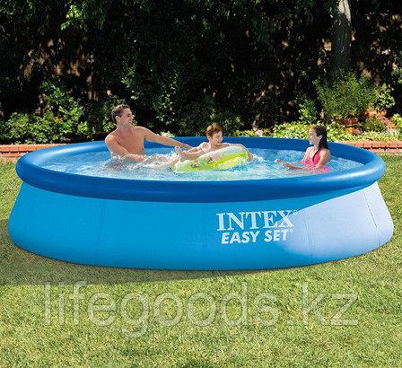 Круглый надувной бассейн 366х76см, Intex 28130, фото 2