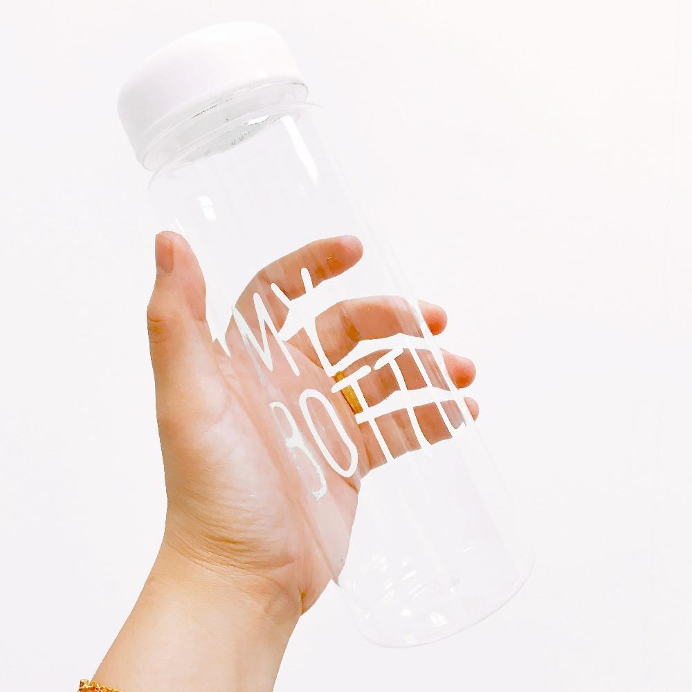 Бутылочка с чехлом для напитков My Bottle 500 мл ( май батл белая) - фото 7