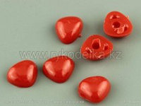 Набор декоративных носиков красных7*9мм 10 шт