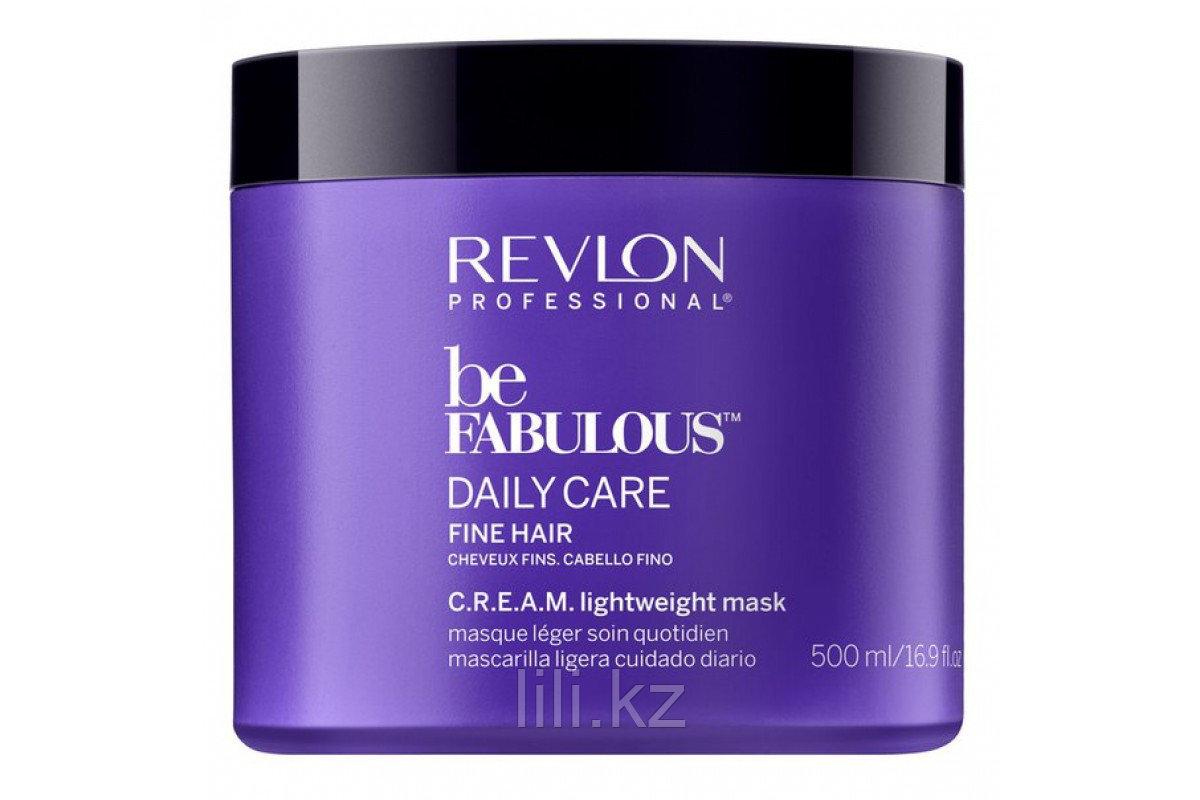 Маска для тонких волос Revlon Be Fabulous Daily Care Fine Hair Lightweight Mask 500 мл.