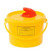 Контейнер (ведро)для острого инструментария  11,5 л