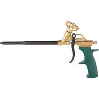 """Пистолет KRAFTOOL """"PRO"""" """"GOLD-KRAFT"""" для монтажной пены, полностью латунный корпус"""
