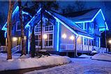 Освещение зданий, фасадов зданий светодиодной лентой, фото 4