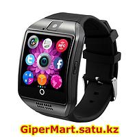 Умные смарт часы Smart watch Q18 (серебристый)