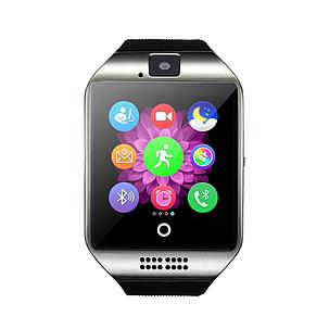 Умные смарт часы Smart watch Q18 (серебристый), фото 2