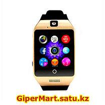 Умные смарт часы Smart watch Q18 (серебристый), фото 3